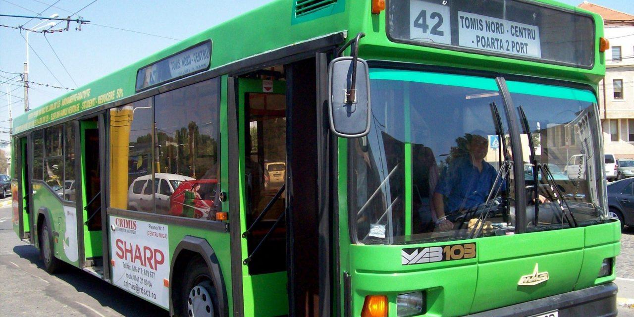 Traseul a două linii de transport RATC va fi modificat