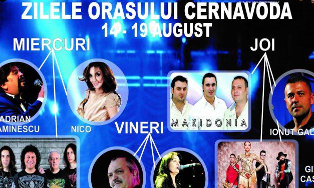 Primăria Cernavodă organizează șase zile de spectacole și activități culturale în cinstea orașului. Vezi programul evenimentelor