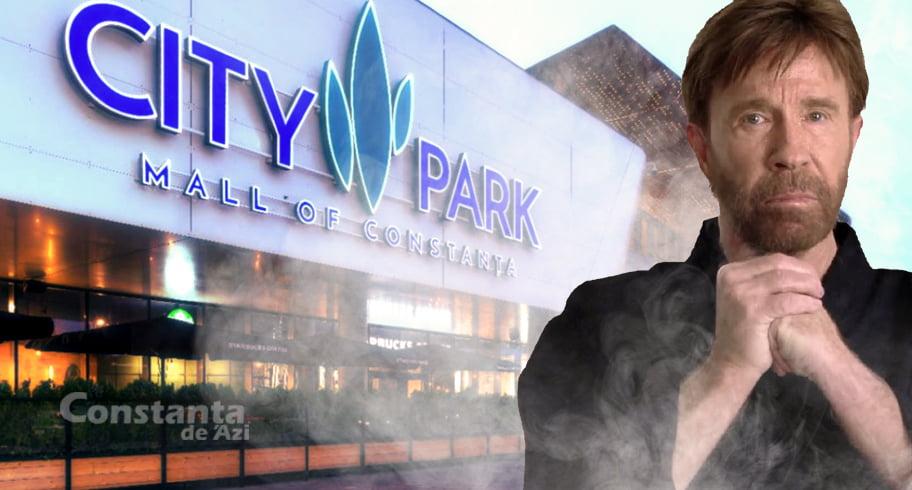 City Park Mall e atât de periculos încât Chuck Norris a zis că n-are tupeu să-l viziteze