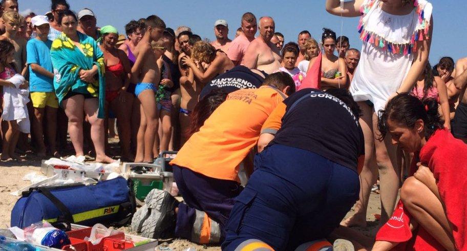 Copil de 12 ani înecat în mare pe Plaja 3 Papuci din Constanța
