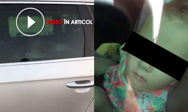 VIDEO. Și-au încuiat copiulul în mașină și au plecat pe plajă. Afară erau 30 de grade Celsius