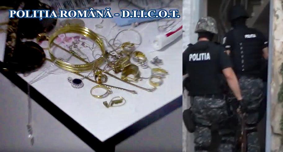 Au furat bijuterii în valoare de 5 milioane de euro! Spărgători de magazine de lux, prinși de polițiștii constănțeni în colaborare cu cei spanioli