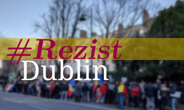Românii din Dublin: Dacă nu de Centenar să ne salvăm țara de impostori, atunci când?