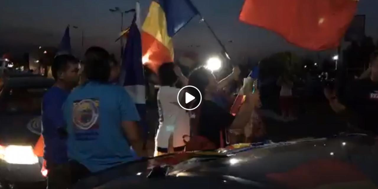 VIDEO/ Românii veniți acasă pentru protestul din Piața Victoriei, întâmpinați cu aplauze