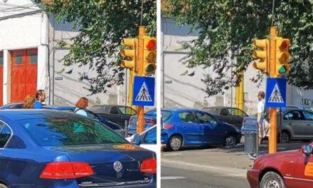 Semafoarele de la intersecția străzilor Mircea cel Bătrân cu Decebal sunt din nou funcționale