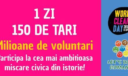 """Primăria Lumina invită locuitorii comunei să devină voluntari în cadrul """"Let's do it Romania"""""""
