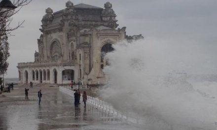 Trei zile cu ploi, vânt și frig la Constanța. ANM a emis informare meteo