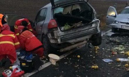 GALERIE FOTO / Accident rutier grav în județul Constanța. Doi morți și un rănit grav