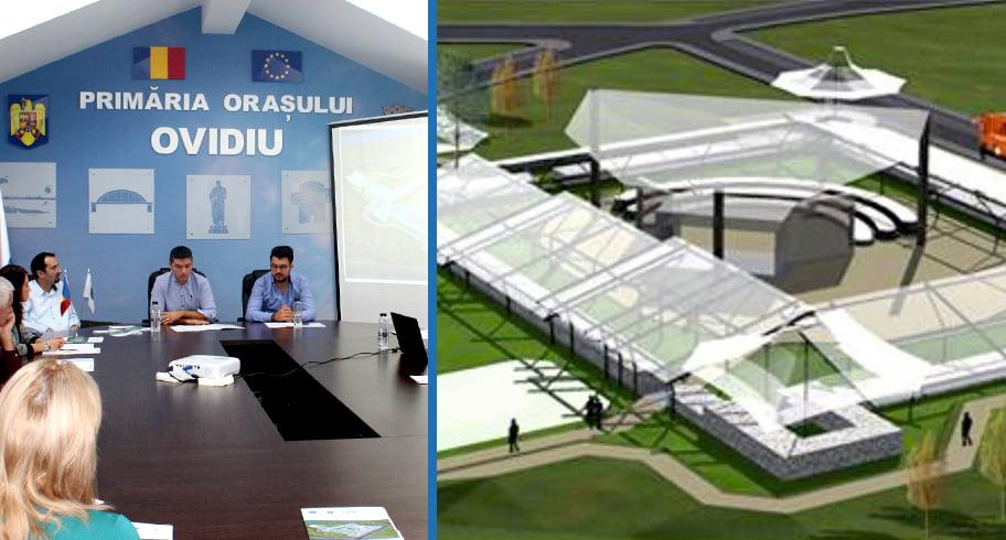 Finanțare europeană de 3 milioane de euro la Ovidiu, pentru reconstruirea Castrului Roman
