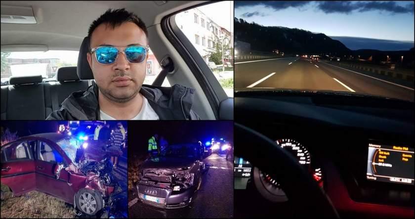 VIDEO cu momentul tragediei. Un șofer care făcea live pe FB la volan a ucis o fetiță de 9 ani. Individul a murit și el, iar un alt copil de 3 ani este în comă