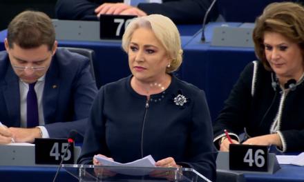 """Dăncilă, o nouă gafă la Bruxelles. A inventat un cuvânt: """"negaţionalism"""""""