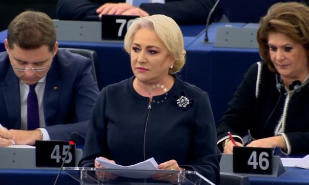 """Dăncilă și Dragnea, făcuți praf în PE: """"Guvernul este controlat de un infractor. Iar când infractorii fac legi, alea sunt bune pentru ei nu pentru oamenii normali"""""""