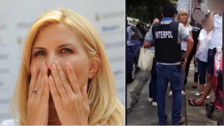 VIDEO cu reținerea Elenei Udrea și Alinei Bica în Costa Rica de către Interpol. Au fost ridicate de pe stradă