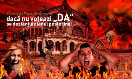 Arhiepiscopia Tomisului o dă pe față. Se lasă cu iad nasol pentru cei care vor boicota referendumul