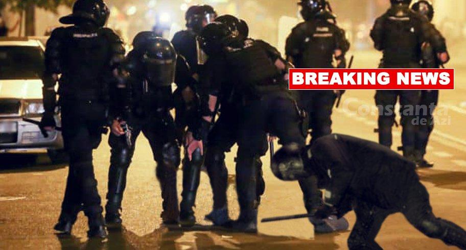 Reacţie promptă a Jandarmeriei la cutremur. Au scos pulanele şi au bătut pământul până s-a potolit