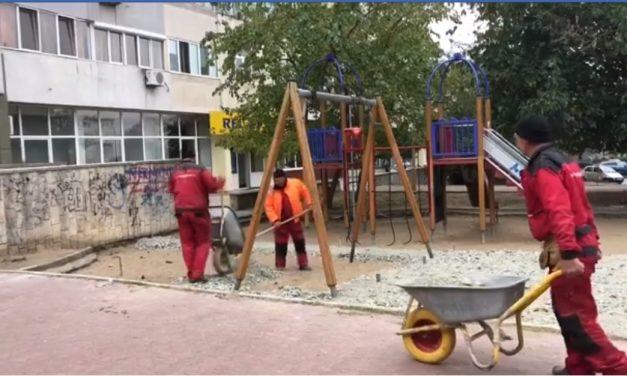 VIDEO / Primăria Constanța începe reamenajarea locurilor de joacă pentru copii. Care sunt primele zone vizate