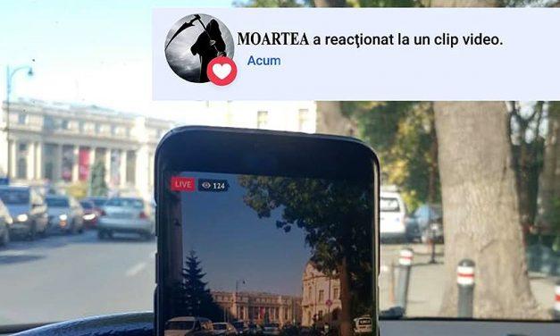 """Poliţia Română, mesaj către șoferii care fac Live-uri la volan: """"Opriţi nebunia asta!"""""""