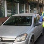 Ai parcat în centrul Constanței și nu ai plătit taxa de parcare prin sms? Poliția locală împarte amenzi de 1000 de lei șoferilor