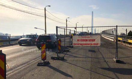 GALERIE FOTO. Pe Podul de la Butelii nu se mai lucrează DELOC, de luni bune! Motivul e năucitor: S-a greșit lucrarea!