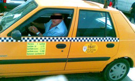 Client de taxi, azvârlit din mașină după s-a dat cu spray ca să reducă mirosul de bășini, naftalină și brăduț cu vanilie