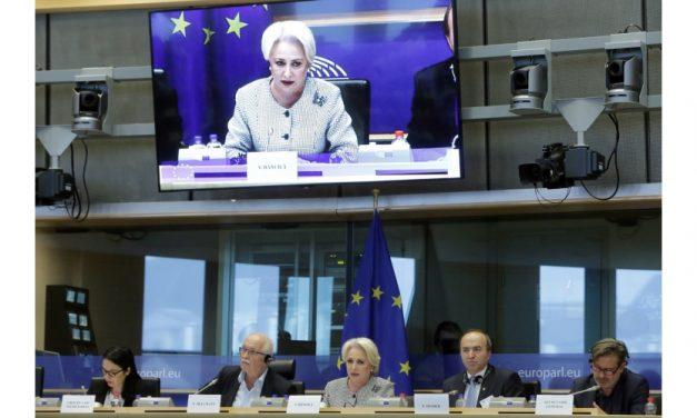 """Europarlamentari: """"Avem impresia că doamna Dăncilă nu înţelege în limba engleză nici măcar când îi spunem Bună ziua!"""""""