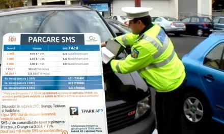 Constănțenii ar putea scăpa de plata taxei de parcare prin SMS sau aplicație