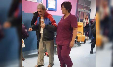 Rănit la ochi și singur, un bătrân a fost lăsat să aștepte patru ore în Urgența Spitalului din Constanța