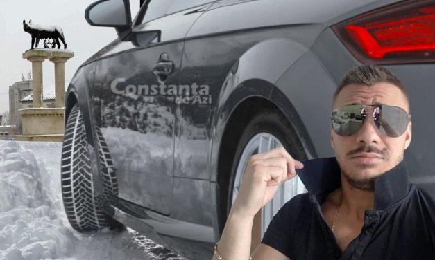 Economie de carburant. Un constănţean meseriaș a patinat cu maşina de la Tomis III până la Lupoaică