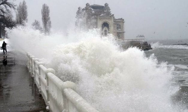 Cod Galben de vânt intens în 35 de localități din județul Constanța
