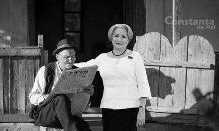 După ce a văzut Moromeții 2, Dăncilă vizitează satul ca să vadă cum arată oamenii în alb-negru