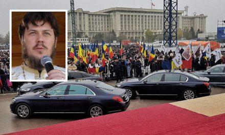 """Preotul Tănăsescu, sfidător la adresa celor care au criticat limuzinele de la Catedrala Neamului: """"Sunteţi invidioşi că nu apucaţi şi voi o tură cu ele"""""""