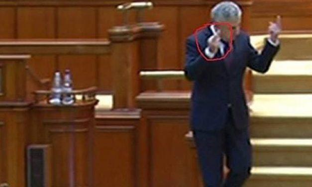 VIDEO. Florin Iordache, gesturi obscene. Le-a arătat deputaților PNL și USR degetul mijlociu