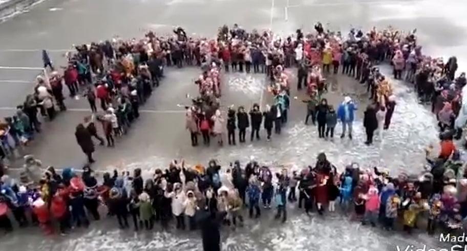 Ei sunt România! Elevii Școlii nr. 37 din Constanța, momente dedicate Centenarului