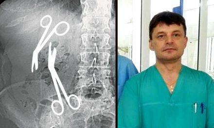 Acuzații grave! Directorul medical al Spitalului Militar din Constanța a uitat două foarfeci de 16 cm în burta unei paciente!