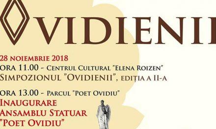 """""""Ovidienii"""". Simpozion și concert Paula Seling la inaugurarea ansamblului statuar din Ovidiu"""