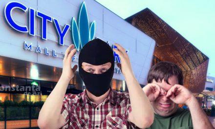 Atentat eșuat la City Park Mall! Atacatorii s-au împiedicat de pavelele din parcare