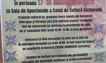 """Cernavodă îmbracă straie populare. Festivalul Folcloric Concurs """"Aneta Stan"""" a ajuns la start"""
