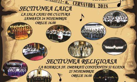 """Festivalul internațional de muzică corală """"I.D. Chirescu"""", la Cernavodă"""