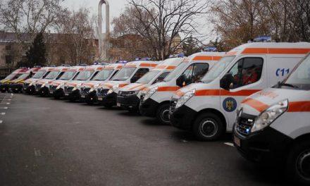 17 autospeciale noi pentru Serviciul de Amulanță Județean Constanța