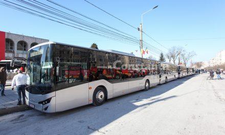 Un nou lot de autobuze Isuzu intră pe străzile Constanței. Abia la vară va avea RATC flota completă