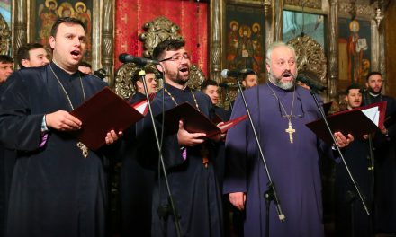 Corala Armonia, concert de colinde în această seara, la Biserica Sfântul Mina din Parcul Tăbăcărie