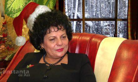 Copiii din Cumpăna, învățați că nu există Moș Crăciun, dar există Mariana Gâju