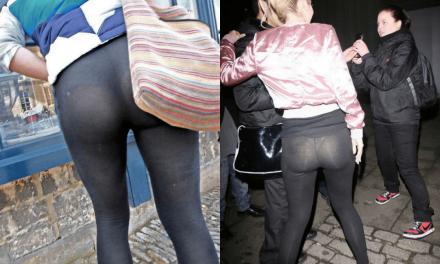 10 imagini care dovedesc de ce ar trebui interziși leggings