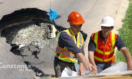 Planuri măreţe! În 2019, Primăria Constanţa va construi cea mai mare groapă din asfaltul unei străzi