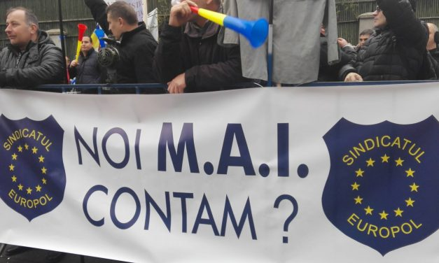 Guvernul PSD îngheață sporurile polițiștilor. Sindicatul Europol anunță un protest masiv și blocarea activității