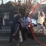 Poliţist bătut cu parul în timpul unei reglări de conturi între interlopi. VIDEO