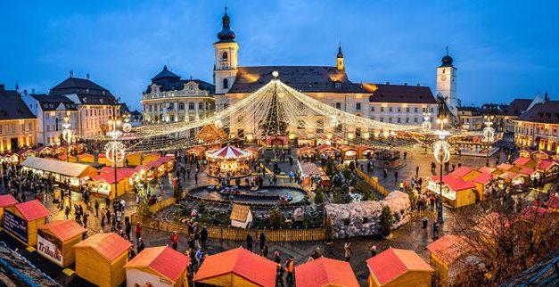 Vă place cum arată Târgul de Crăciun de la Constanța? Iată cum arată târgurile de Crăciun din Sibiu, Cluj, Timișoara sau Piatra Neamț