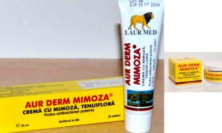 Agenția Națională a Medicamentului atenționează consumatorii să nu cumpere AUR DERM MIMOSA