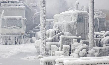 GALERIE FOTO. Chicago, transformat într-un oraș de gheață. Temperaturi de până la minus 50 de grade