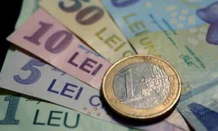 Leul înregistrează nou minim istoric. Euro se apropie de 4,69 lei